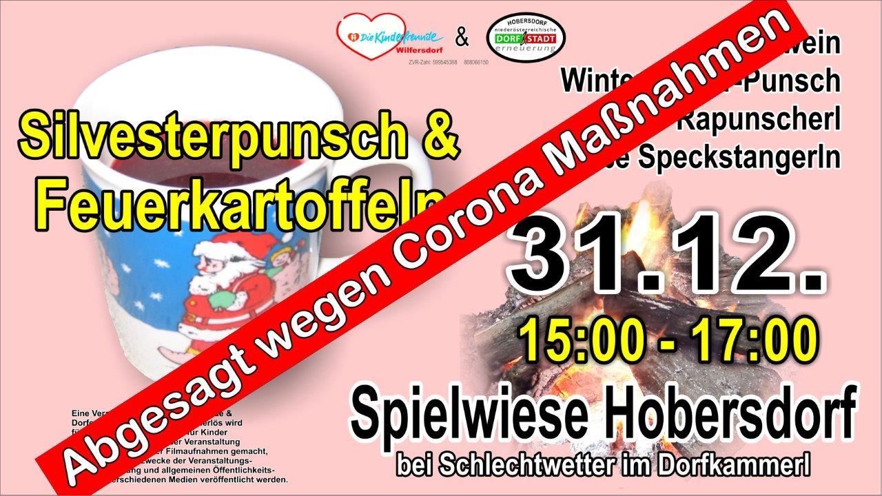 Silvesternachmittag auf der Spielwiese Hobersdorf